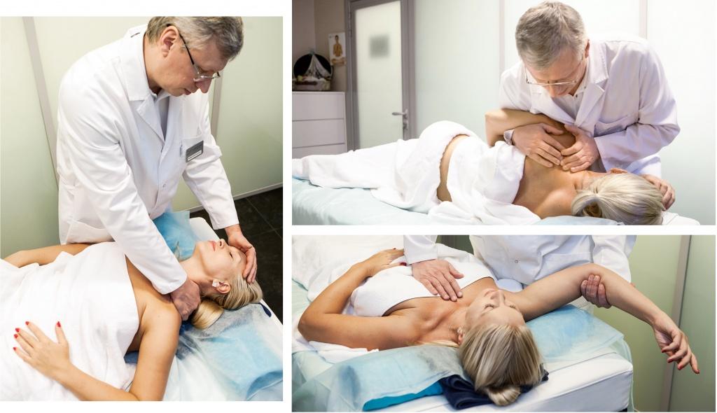 Лечение остеопатией