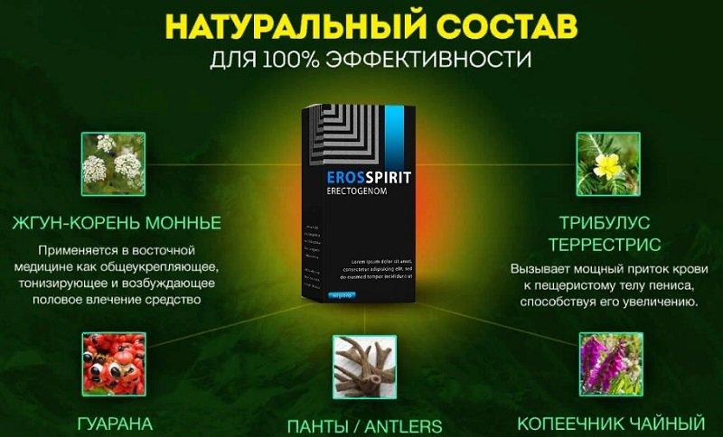 Натуральный состав капель позволяет не только восстановить потенцию, но и улучшить общее состояние организма мужчины.