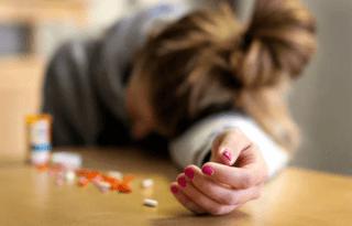 Самоубийство с помощью таблеток