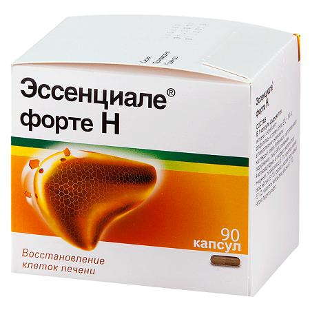 Лечение жирового гепатоза печени лекарством Эссенциале