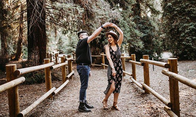 Танцы в лесу, поднятия дофамина и эндорфинов