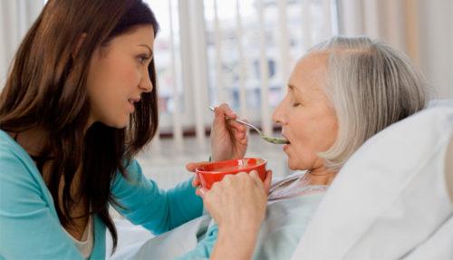 Питание при дисфагии должно быть дробным
