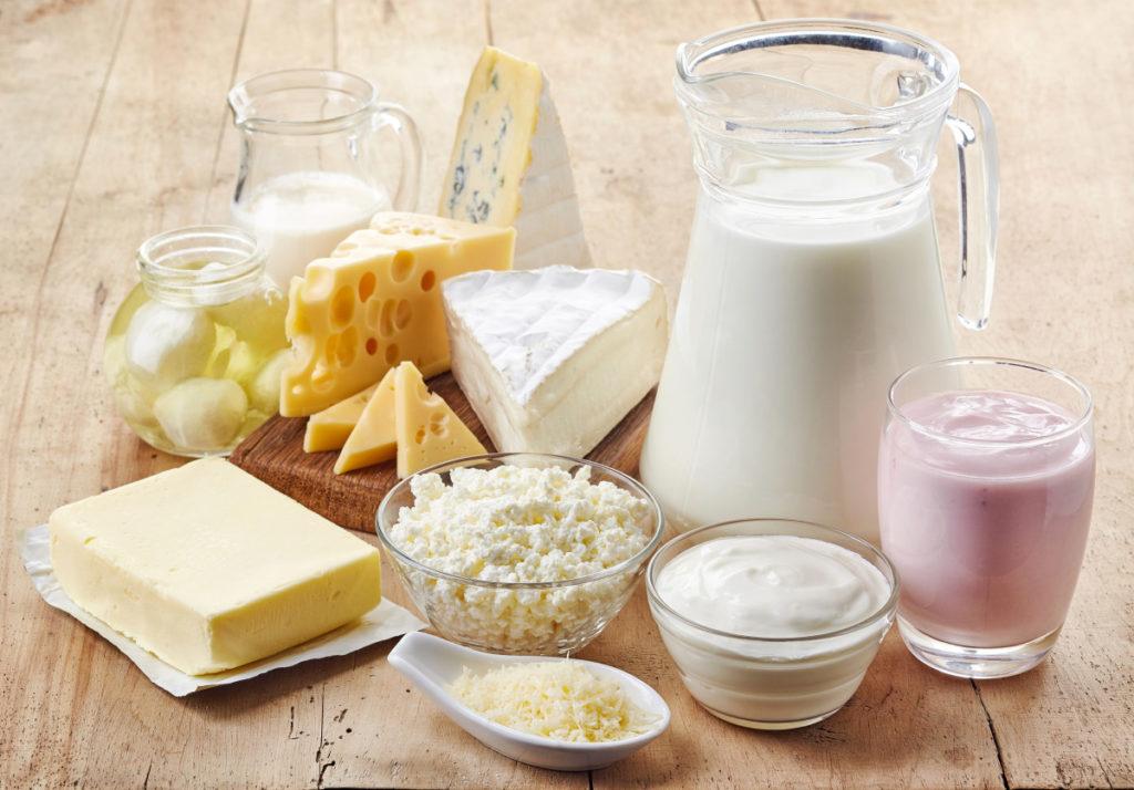 Молоко и полезные продукты молочной переработки