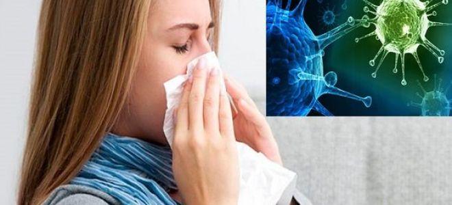 Симптомы и лечение вирусного насморка у взрослых и детей