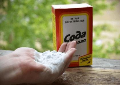 Употребление соды