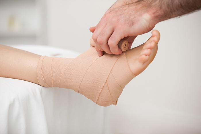 отек ноги после операции