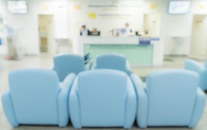 Ресепшен в клинике