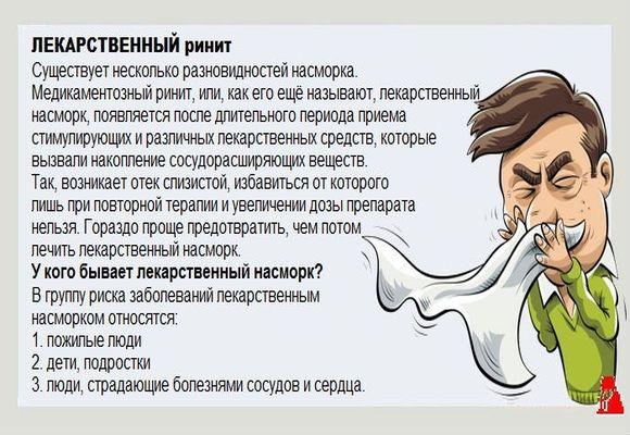 Лекарственный насморк