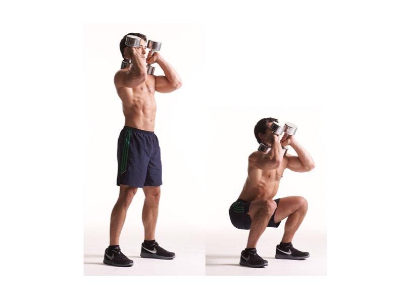 Рекомендуется выполнять до 20 повторений упражнения