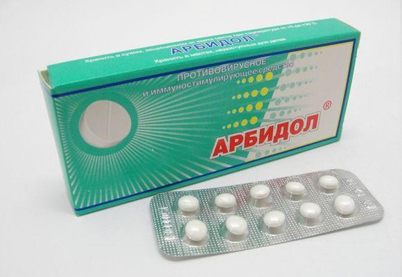Противовирусное средство Арбидол