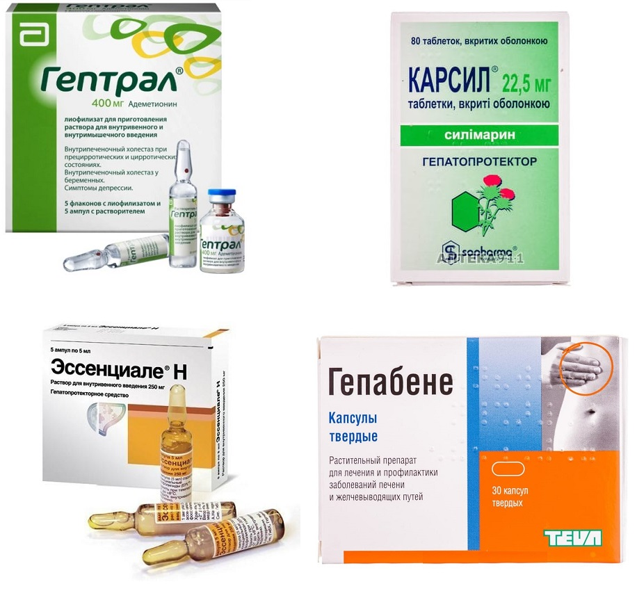 Лечение медикаметозного гепатита