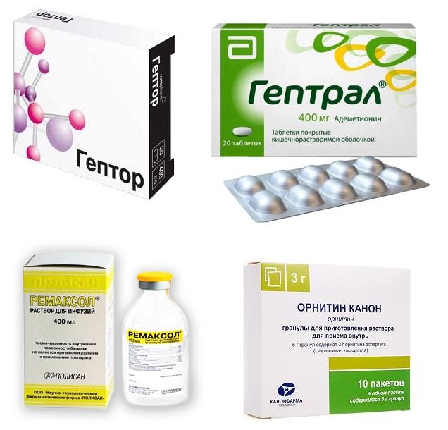 Гепатопротекторы аминокислоты