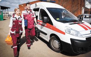 Вызов медицинских работников
