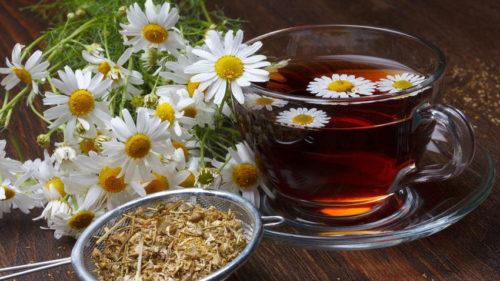 Ромашковый чай снижает кислотность желудка