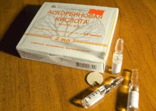 Раствор аскорбиновой кислоты