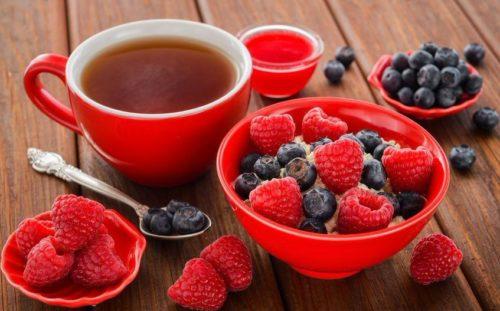 Фруктовый чай полезен для пищеварительной системы