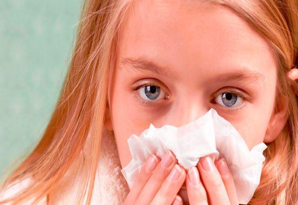 девочка простудилась