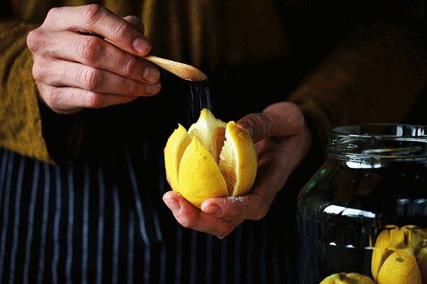 Консервация лимонов