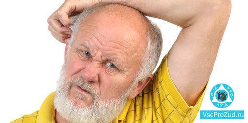 Причины зуда у пожилых людей