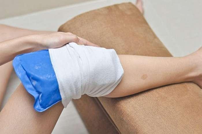 Бурсит коленного сустава компресс