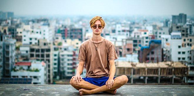 Йога в городе