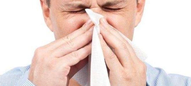 Симптомы и лечение острого насморка