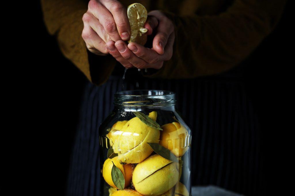 Рецепт маринования лимонов