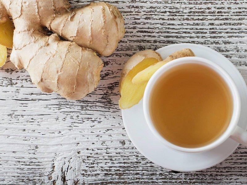 Чтобы убрать специфический вкус растения, допускается использование зеленого чая.