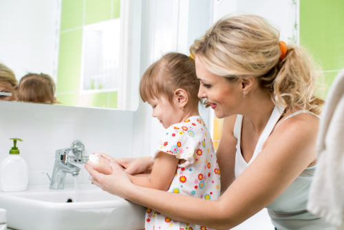 Профилактика энтерита у детей – чистые руки