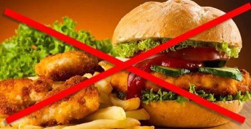 Жирная пища способна вызвать болевой синдром в пищеводе