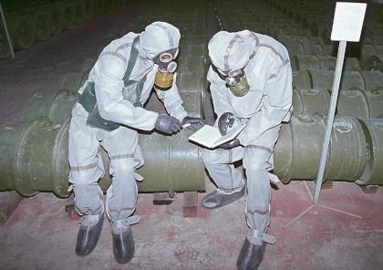 Защита при работе с химическим оружием