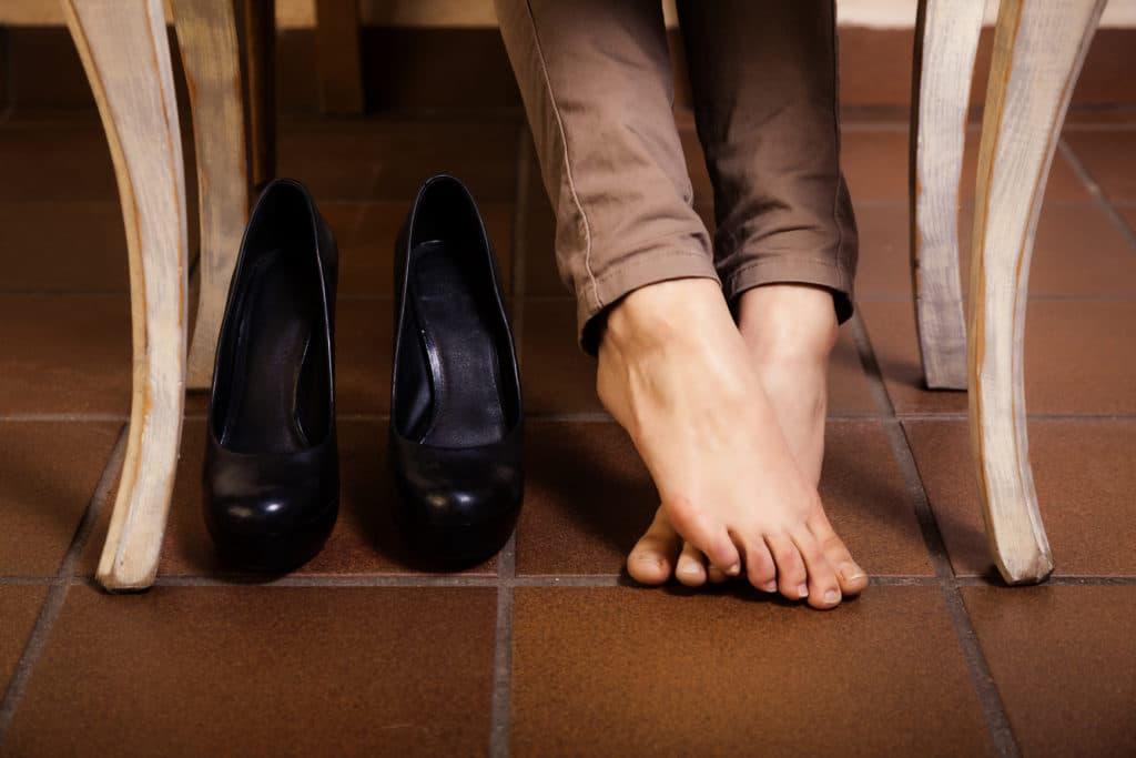 Причины грибка на ногах