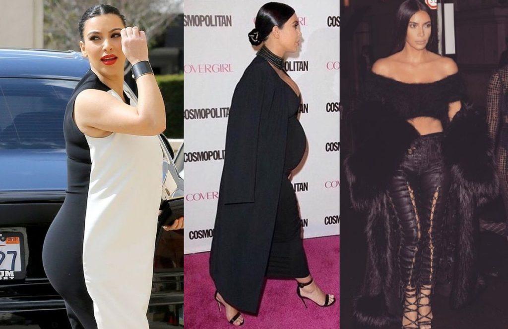 Ким Кардашьян до и после революционной диеты Аткинса