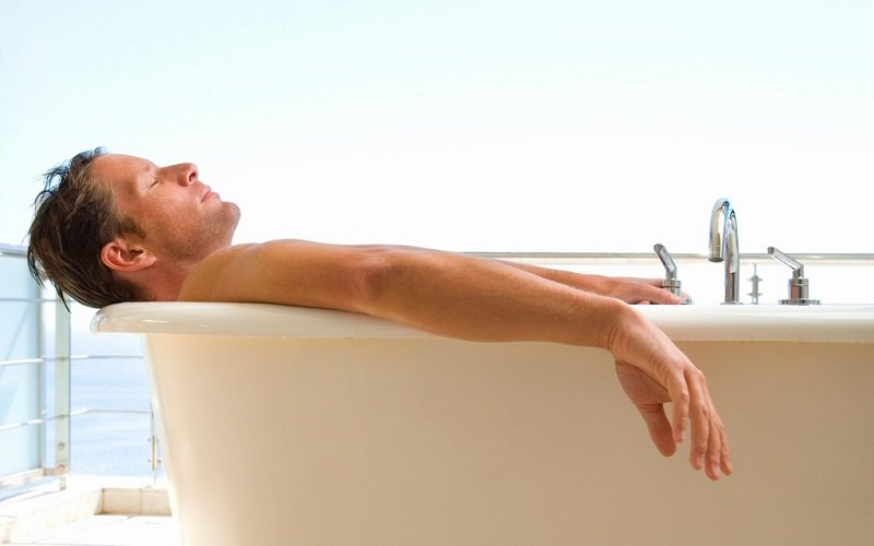 Ванны признаны самым эффективным домашним лекарем.