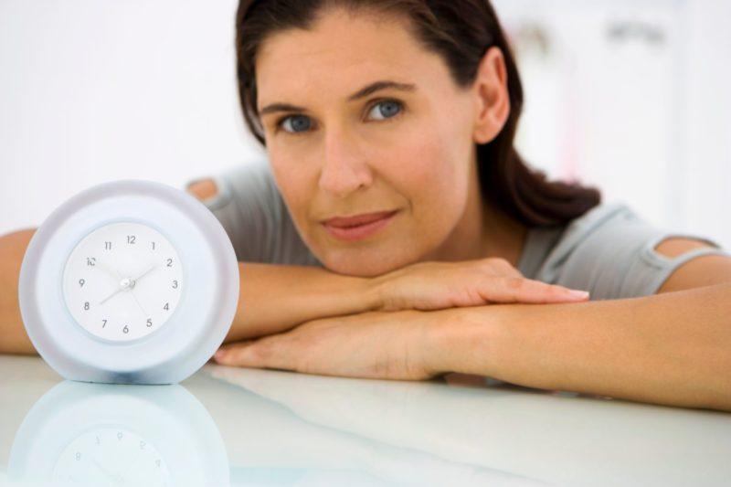 Как правило, климакс наступает в возрасте 45-55 лет