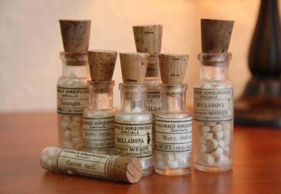 флакончики с лекарствами
