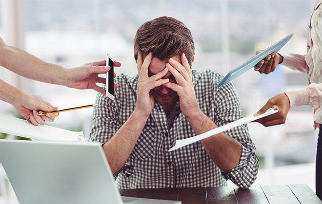 Трудности на работе. Прокрастинация у мужчины