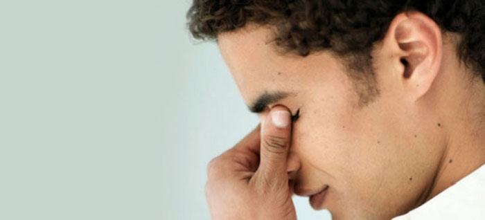 отек слизистой глаза
