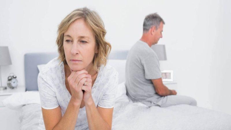 Во время менопаузы секс больше не доставляет удовольствие из-за болевых ощущений