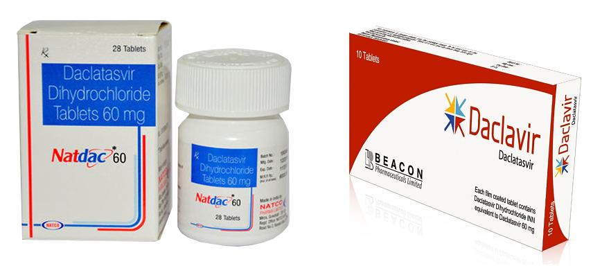 Таблетки от гепатита из Индии