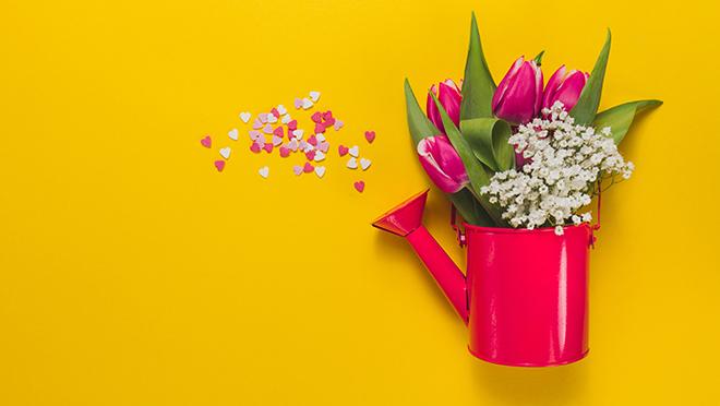 Весна, цветы, любовь
