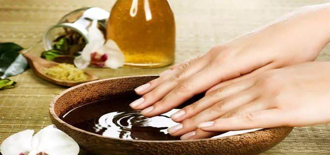 ванночка для снятия отека пальцев