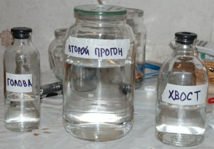 Состав самогона
