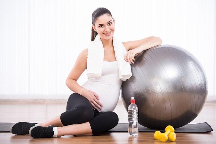 гимнастика при беременности от отеков
