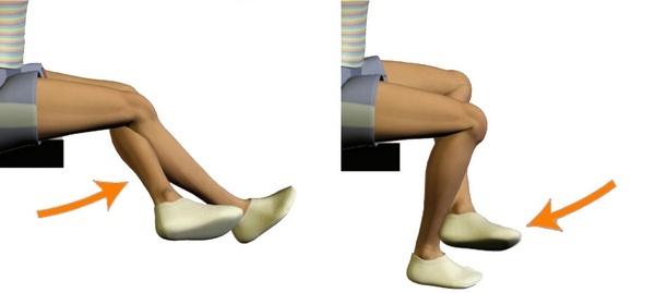 Гимнастика после замены коленного сустава