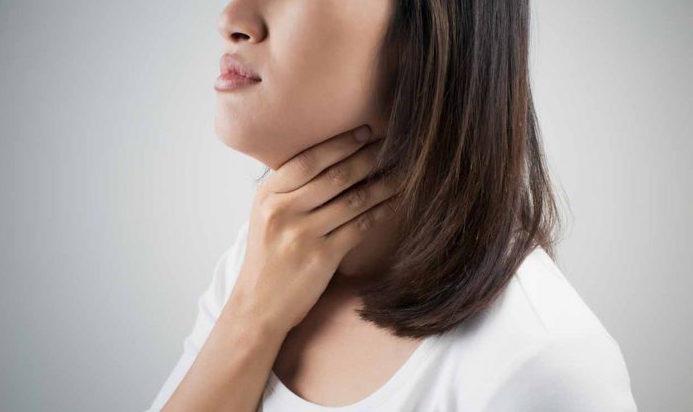 опухшие миндалины