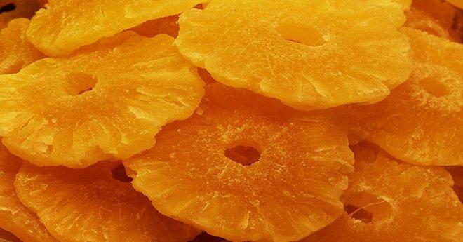 Сухофрукты ананас