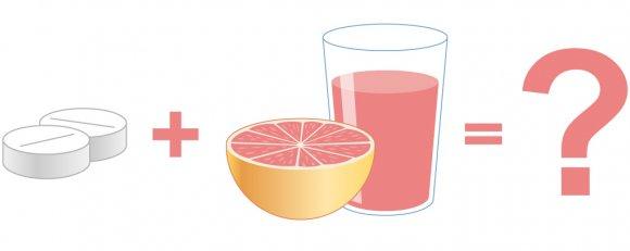 Грейпфрутовый сок и Буденофальк