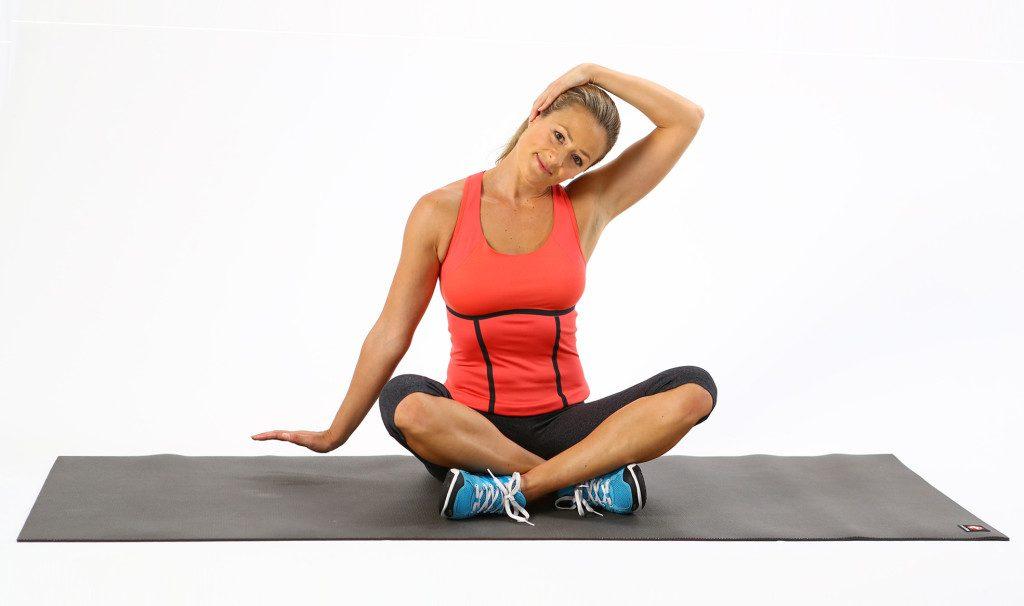 Зарядка для шеи при остеохондрозе
