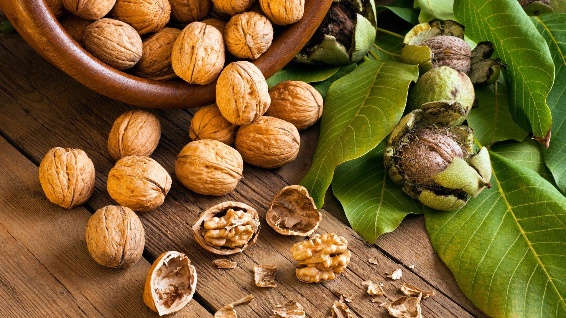 При потреблении орехов удается повысить потенцию у мужчин